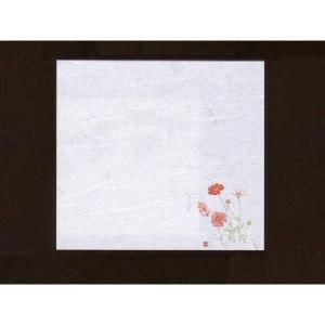 4寸雲竜敷紙 こすもす 100枚入 (8月〜9月 コスモス 雲竜和紙) [常温限]|yukawa-netshop