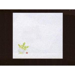 4寸雲竜敷紙 かぶ 100枚入 (11月〜1月 蕪 雲竜和紙) [常温限]|yukawa-netshop