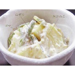 若筍胡麻和え 1kg 業務用惣菜  (筍 たけのこ 竹の子 和え物 あえもの) [冷蔵]|yukawa-netshop