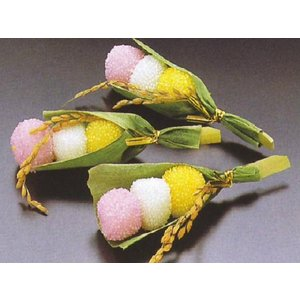豊年団子 8本入 おせち単品 (3色 三色 串 ダンゴ だんご 祝い) [冷凍]|yukawa-netshop