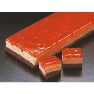 ラズベリーケーキ デザート (フランボワーズ キイチゴ チョコレート ケーキ フリーカット) [冷凍]|yukawa-netshop
