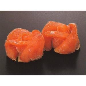 ローズサーモン 10入 【オードブル】 (鮭 さけ 細工 花びら) [冷凍]|yukawa-netshop