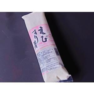 えび すり身 500g 業務用 (調味 スリミ 海老 エビ) [冷凍]|yukawa-netshop