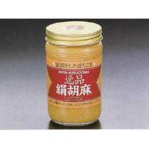 大村屋 逸品 絹胡麻 340g 瓶入 (瓶込:850g クリーム状 胡麻 あたりごま ねりごま) [常温]|yukawa-netshop