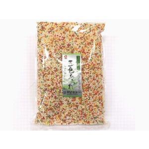 五色あられ 500g (ぶぶあられ 5色 カラフル いろあられ) [常温限]|yukawa-netshop|02