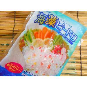海藻ビードロ 【白】 500g (海藻麺) [冷蔵]|yukawa-netshop