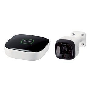 スマートフォンで自宅やガレージを見守り、カメラを通じて会話もできる。  専用アプリ「ホームネットワー...