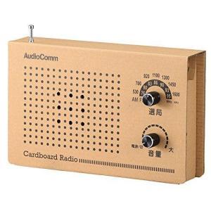 オーム電機 ダンボールラジオ RAD-T170N