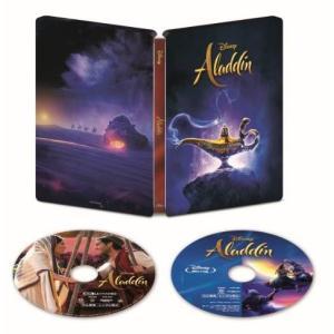 アラジン 4K UHD MovieNEX スチールブック(数量限定) [4K ULTRA HD+Blu-ray+デジタルコピー+MovieNEXワールド]
