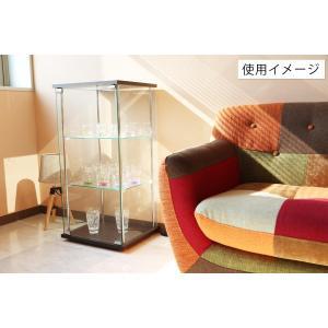 4面 ガラス コレクションケース 3段  <ガラス 透明 フィギュア コレクション 趣味 ディスプレイ 収納 飾る ラック キャビネット 人気 BOX 96049> yukimi-kagu 11