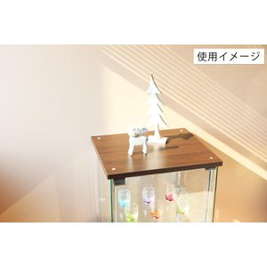 4面 ガラス コレクションケース 3段  <ガラス 透明 フィギュア コレクション 趣味 ディスプレイ 収納 飾る ラック キャビネット 人気 BOX 96049> yukimi-kagu 12