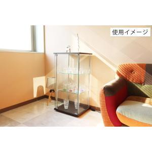 4面 ガラス コレクションケース 3段  <ガラス 透明 フィギュア コレクション 趣味 ディスプレイ 収納 飾る ラック キャビネット 人気 BOX 96049> yukimi-kagu 13