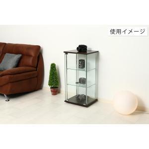 4面 ガラス コレクションケース 3段  <ガラス 透明 フィギュア コレクション 趣味 ディスプレイ 収納 飾る ラック キャビネット 人気 BOX 96049> yukimi-kagu 14