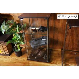 4面 ガラス コレクションケース 3段  <ガラス 透明 フィギュア コレクション 趣味 ディスプレイ 収納 飾る ラック キャビネット 人気 BOX 96049> yukimi-kagu 16