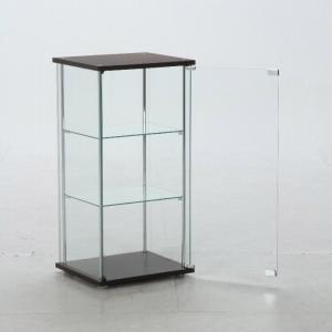4面 ガラス コレクションケース 3段  <ガラス 透明 フィギュア コレクション 趣味 ディスプレイ 収納 飾る ラック キャビネット 人気 BOX 96049> yukimi-kagu 03