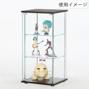 4面 ガラス コレクションケース 3段  <ガラス 透明 フィギュア コレクション 趣味 ディスプレイ 収納 飾る ラック キャビネット 人気 BOX 96049> yukimi-kagu 04