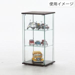4面 ガラス コレクションケース 3段  <ガラス 透明 フィギュア コレクション 趣味 ディスプレイ 収納 飾る ラック キャビネット 人気 BOX 96049> yukimi-kagu 05