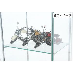 4面 ガラス コレクションケース 3段  <ガラス 透明 フィギュア コレクション 趣味 ディスプレイ 収納 飾る ラック キャビネット 人気 BOX 96049> yukimi-kagu 06