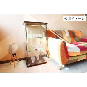4面 ガラス コレクションケース 3段  <ガラス 透明 フィギュア コレクション 趣味 ディスプレイ 収納 飾る ラック キャビネット 人気 BOX 96049> yukimi-kagu 08