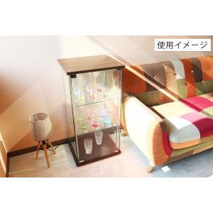 4面 ガラス コレクションケース 3段  <ガラス 透明 フィギュア コレクション 趣味 ディスプレイ 収納 飾る ラック キャビネット 人気 BOX 96049> yukimi-kagu 09