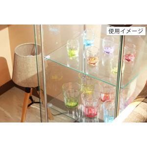 4面 ガラス コレクションケース 3段  <ガラス 透明 フィギュア コレクション 趣味 ディスプレイ 収納 飾る ラック キャビネット 人気 BOX 96049> yukimi-kagu 10