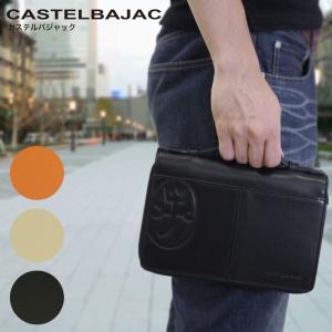 セカンドバッグ メンズ CASTELBAJAC(カステルバジャック)クラッチバッグ セカンドバック ...