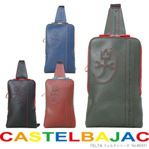 ボディバッグ メンズ CASTELBAJAC カステルバジャック フェルタシリーズ ボディーバッグ ...