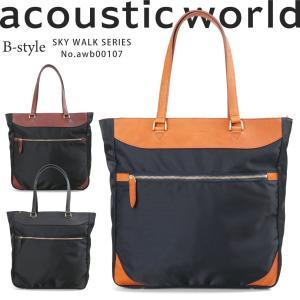 トートバッグ ビジネスバッグ メンズ acoustic wo...