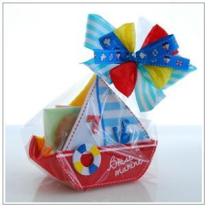 お中元や夏のギフトにクッキー・焼き菓子詰め合わせ「ころりんヨット 赤」 799円 yukiusagi 02