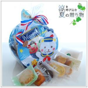 お中元や夏のギフトにクッキー・焼き菓子詰め合わせ「マリンベア」 1717円|yukiusagi