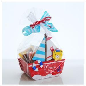 お中元や夏のギフトにクッキー・焼き菓子詰め合わせ「一緒に海に行こうよ!」 1749円 yukiusagi 02