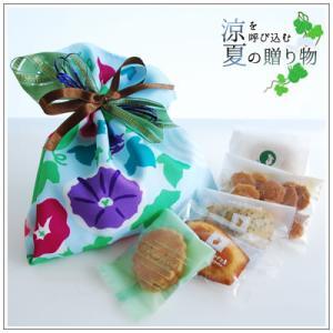 お中元や夏のギフトにクッキー・焼き菓子詰め合わせ「朝顔」 1350円|yukiusagi