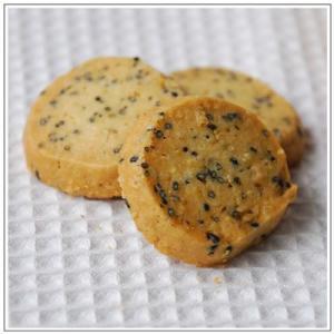 焼菓子:ごまごまクッキー|yukiusagi