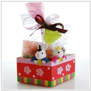 ひな祭りのお祝いに:クッキー・焼き菓子詰め合わせ「菱餅雛」 1302円|yukiusagi|02