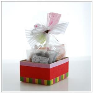 ひな祭りのお祝いに:クッキー・焼き菓子詰め合わせ「菱餅雛」 1302円|yukiusagi|03