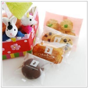 ひな祭りのお祝いに:クッキー・焼き菓子詰め合わせ「菱餅雛」 1302円|yukiusagi|04