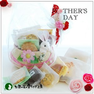 母の日お祝いギフト:クッキー焼菓子詰合せ「サンデー」1620円|yukiusagi