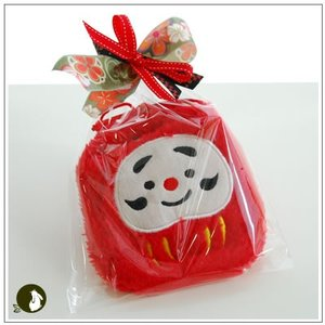 正月のお年賀特集:クッキー・焼菓子詰合せ 「ふわふわダルマ 赤」 998円|yukiusagi|02