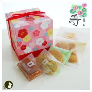正月のお年賀特集:クッキー・焼菓子詰合せ 「梅柄ボックス」 1344円|yukiusagi