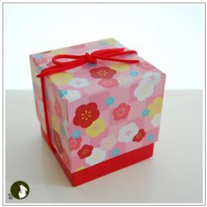 正月のお年賀特集:クッキー・焼菓子詰合せ 「梅柄ボックス」 1344円|yukiusagi|02