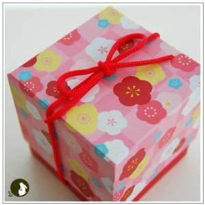 正月のお年賀特集:クッキー・焼菓子詰合せ 「梅柄ボックス」 1344円|yukiusagi|03