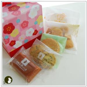 正月のお年賀特集:クッキー・焼菓子詰合せ 「梅柄ボックス」 1344円|yukiusagi|04