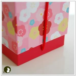 正月のお年賀特集:クッキー・焼菓子詰合せ 「梅柄ボックス」 1344円|yukiusagi|05