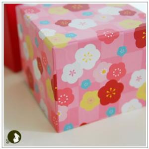正月のお年賀特集:クッキー・焼菓子詰合せ 「梅柄ボックス」 1344円|yukiusagi|07