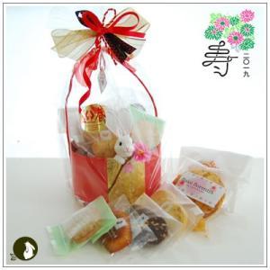 正月のお年賀特集:クッキー・焼菓子詰合せ 「福うさぎ」 1733円|yukiusagi
