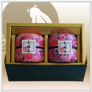 【深蒸し茶】お茶:高級深蒸し茶「なつめ缶」80g2本箱入り|yukiusagi