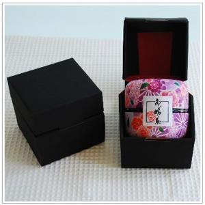 【深蒸し茶】お茶:高級深蒸し茶「なつめ缶」80g 紫なつめ缶1本 箱入り|yukiusagi|02
