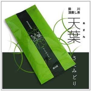 【新茶】掛川深蒸し茶 天葉(あまね)〜さえみどり 1袋70g 1,050円 yukiusagi