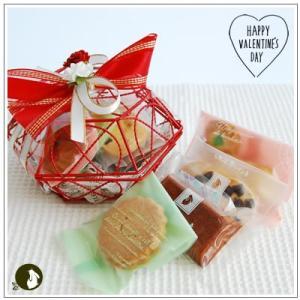 バレンタイン:クッキー・焼菓子詰合せ「真っ赤な愛情」 1124円|yukiusagi