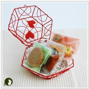 バレンタイン:クッキー・焼菓子詰合せ「真っ赤な愛情」 1124円|yukiusagi|06